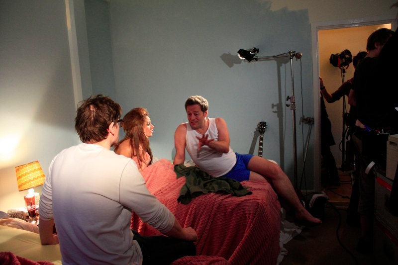 Discussing the bedroom scene